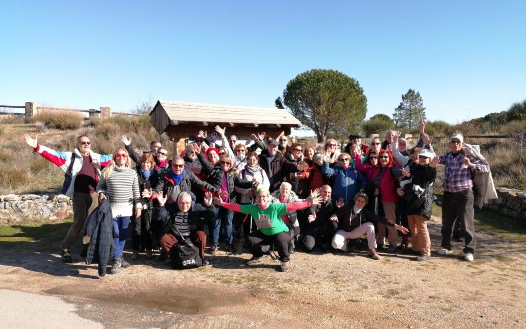 Las Trincheras de la Jarosa. Grupo Senior Ayto Las Rozas