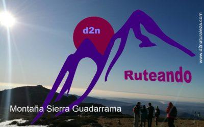 Ruteando d2n. Montaña Sierra Guadarrama. Dosmiles