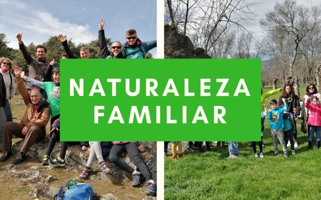 """Naturaleza en Familia. Senda """"Descubriendo las Trincheras"""""""
